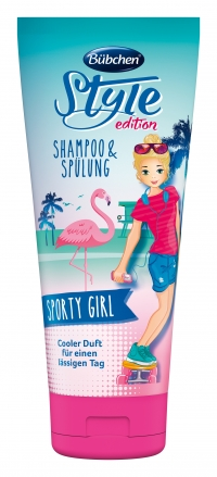 """Šampūns un balzāms """"Sportiskā meitene"""""""