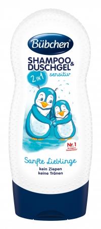 """Šampūns un dušas želeja """"Mīļie Pingvīni"""""""